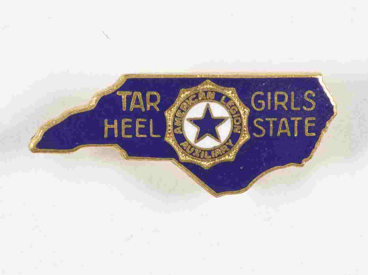 North Carolina Tar Heel Girl State Pin