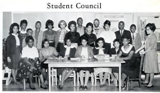 African American High School Yearbooks From Huntersville