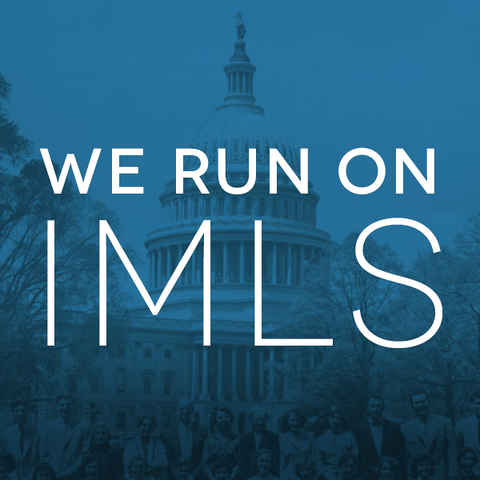 We Run on IMLS Badge
