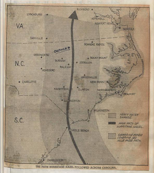 Francis B. Hays tells the story of Hurricane Hazel