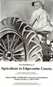 Oral histories and photos from Edgecombe County now available