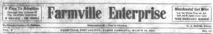 Over 1000 issues of The Farmville Enterprise digitized
