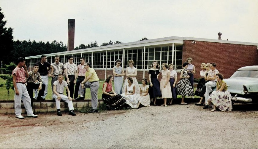Millbrook High School yearbooks from Olivia Raney Local History Library now online