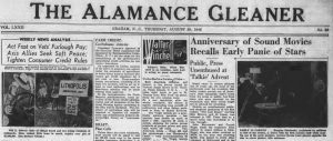 20 More Years of the Alamance Gleaner Now Available