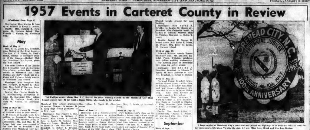 11 More Years of the Carteret County News-Times Now Available
