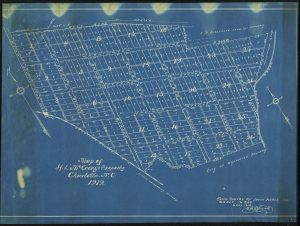 Set of Maps from Johnson C. Smith University Show McCrorey Heights Neighborhood in Charlotte