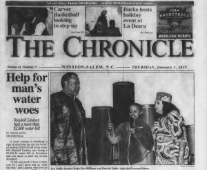 More issues of The Chronicle out of Winston-Salem now available