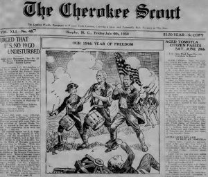 Thirty More Years of the Cherokee Scout Now Online at DigitalNC