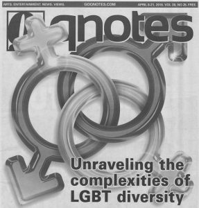 Another batch of Q-Notes from Charlotte LGBT community takes us through 2016