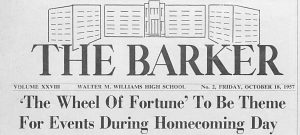 New Issues of The Barker from Walter Williams High School Now Up