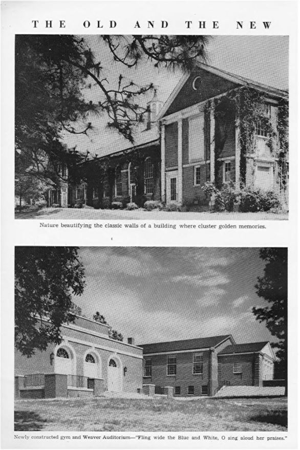 Southern Pines High School 1951 buildings