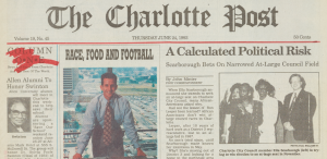 More issues of The Charlotte Post are now online!