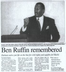 More additions to the R. Kelly Bryant Obituary Collection Now Online at DigitalNC