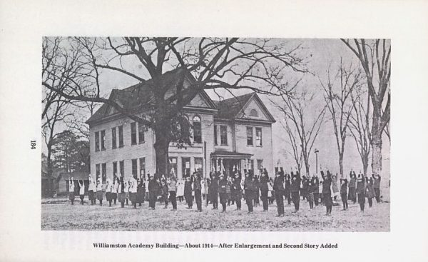 Williamston Academy Building 1914
