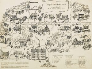 New Blueprints, Maps, and Artifacts from the Chapel Hill Historical Society Tell the Story of Chapel Hill