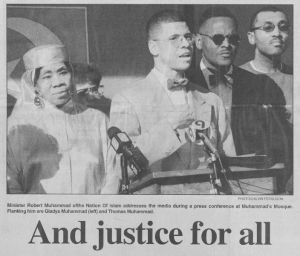 """And justice for all,"" April 17, 1997"
