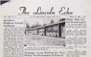 Lincoln Echo Feb 1953