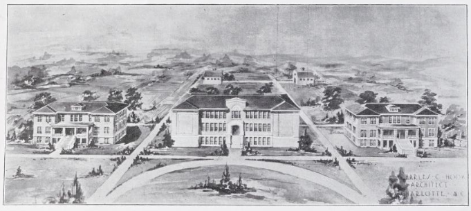 China Grove High Architectural Drawing