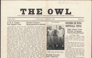OHS Owl September 1946