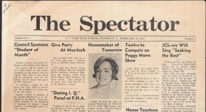 JFWHS Spectator February 1965