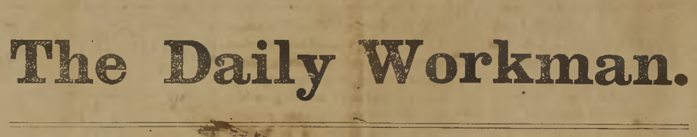 Greensboro's The Daily Workman newspaper is now available on DigitalNC!