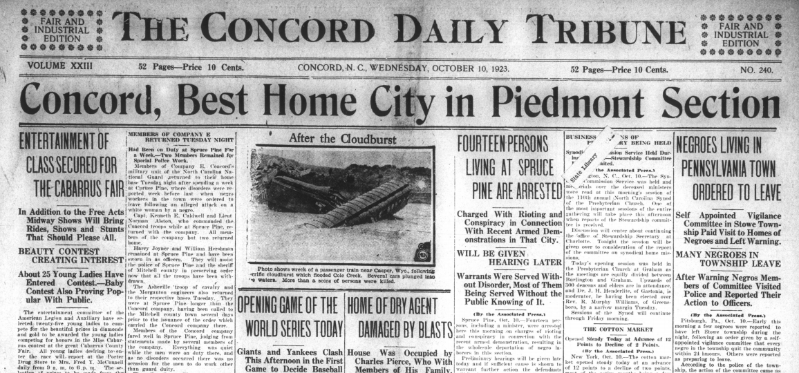 The Concord Daily Tribune, October 10, 1923