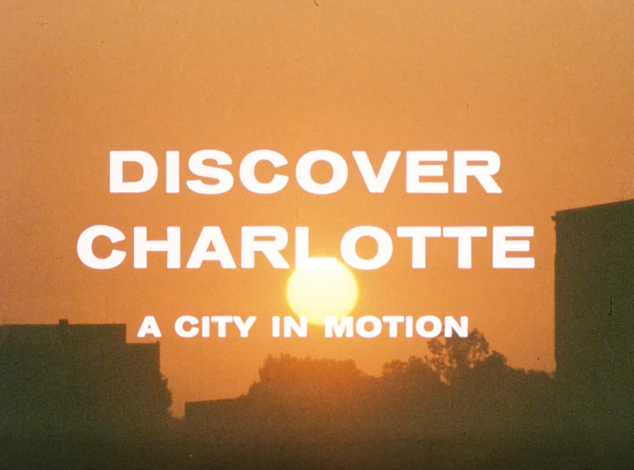 film title printed over charlotte sunrise