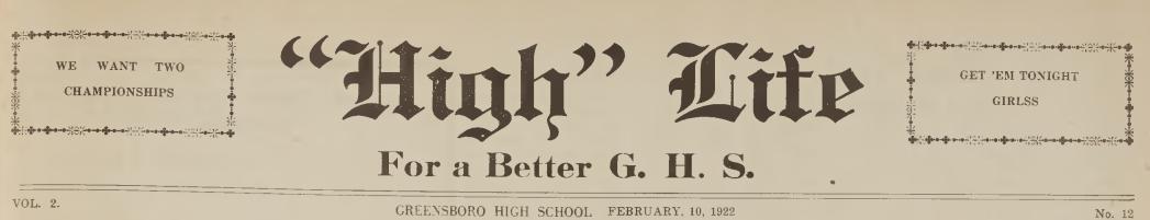 High Life, February 10, 1922