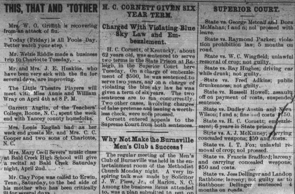 The Burnsville Eagle, April 1, 1932