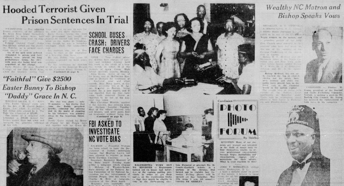 The Carolinian, May 19, 1952