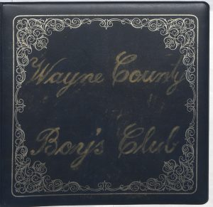 Several Wayne County Boy's Club Scrapbooks are now live!