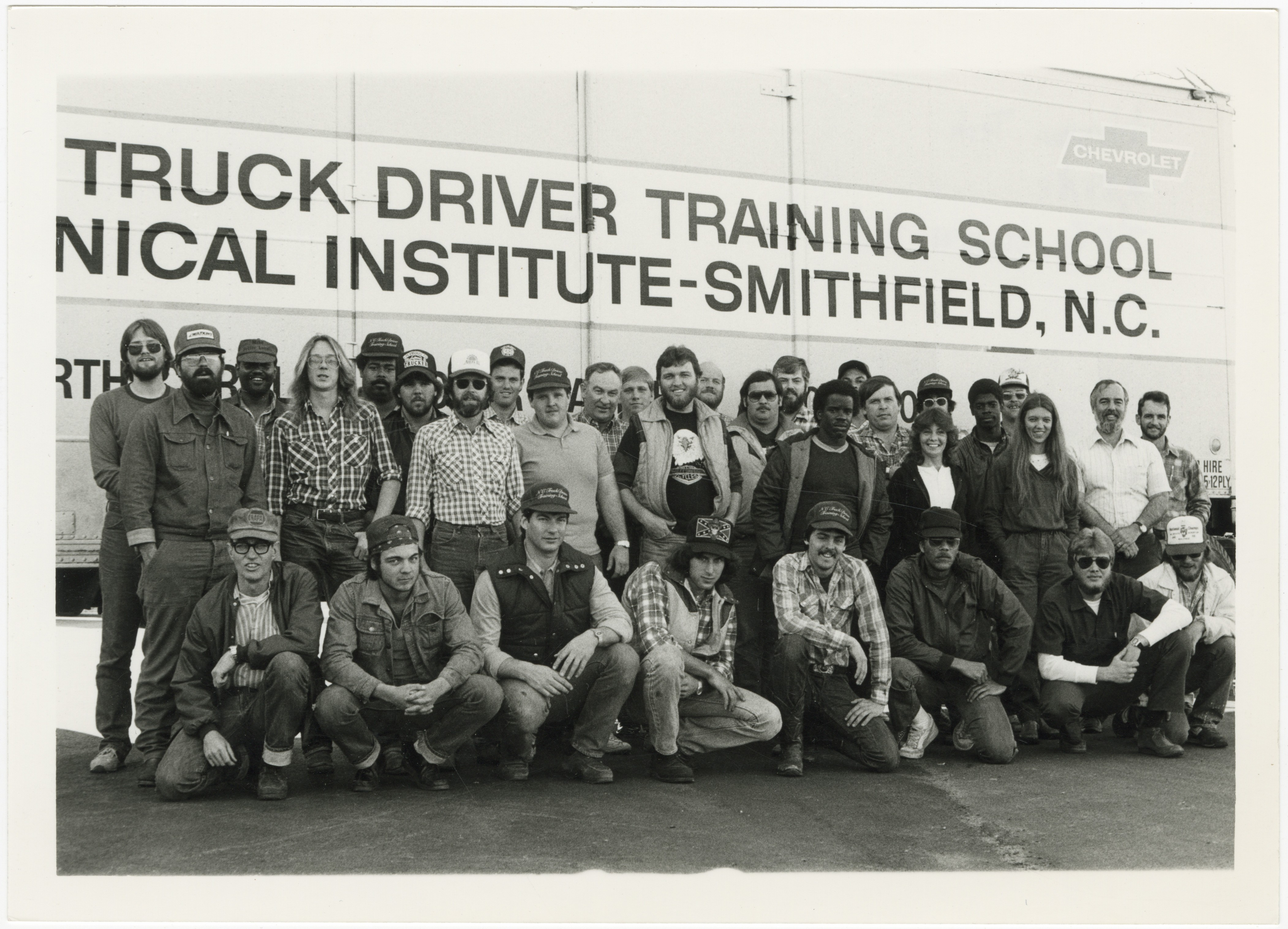 Truck Driver Training School students