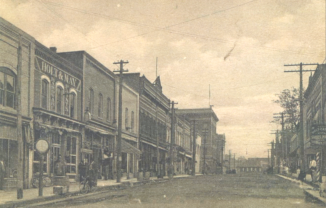 Main Street, Burlington, 1908
