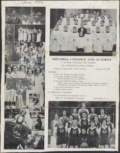 Mitchell Community College Catalogs and Historic Ephemera Available Now!