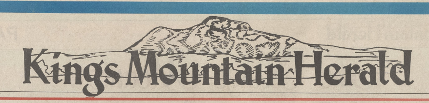 Masthead from 1988 for Kings Mountain Herald newspaper.