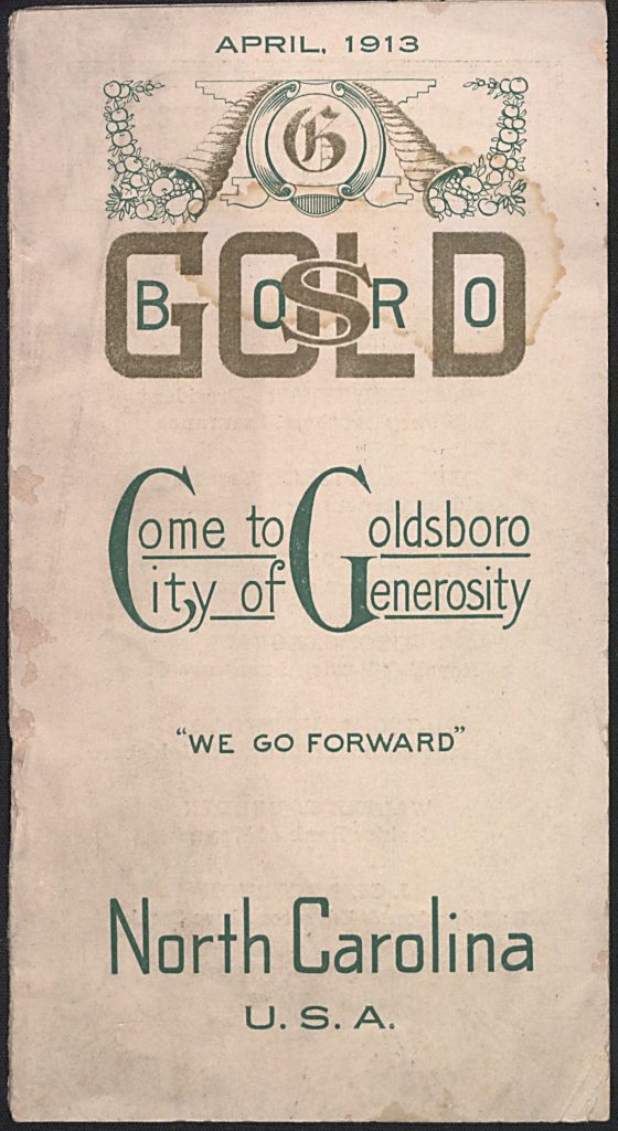 Goldsboro and Wayne County promotional materials and more yearbooks now on DigitalNC