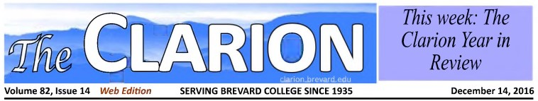 Masthead for The Clarion.