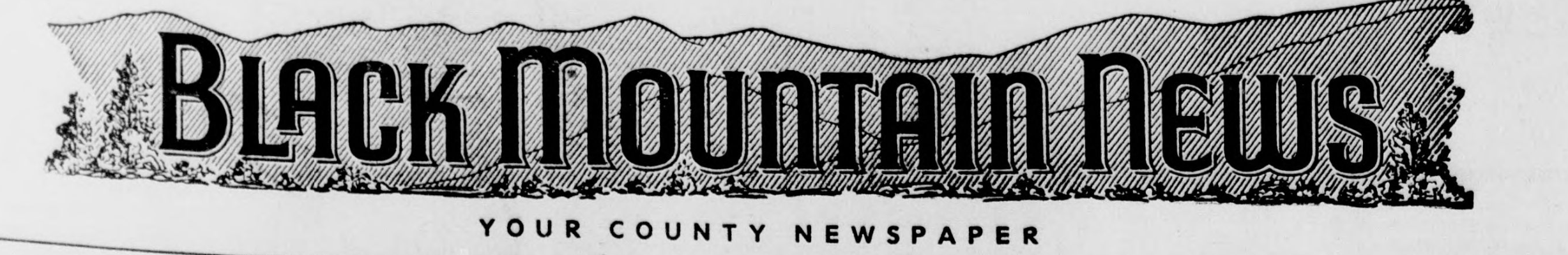 Black Mountain News title