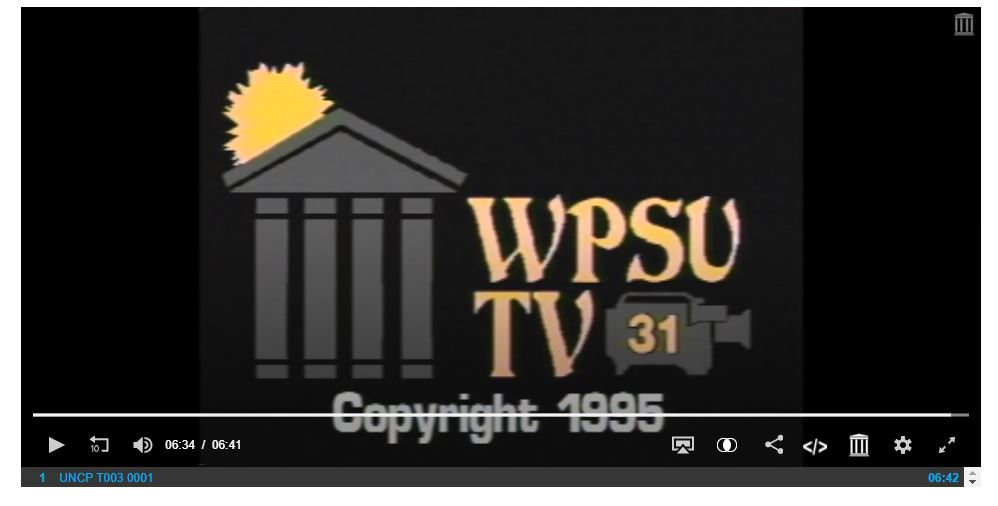 Over 100 videos from UNC-Pembroke now on DigitalNC