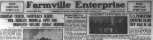 The Farmville Enterprise